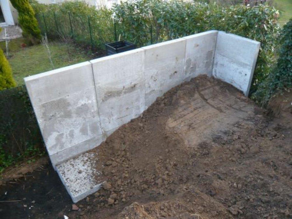 Sout nement layrac btp travaux publics en aveyron - Mur de soutenement beton ...