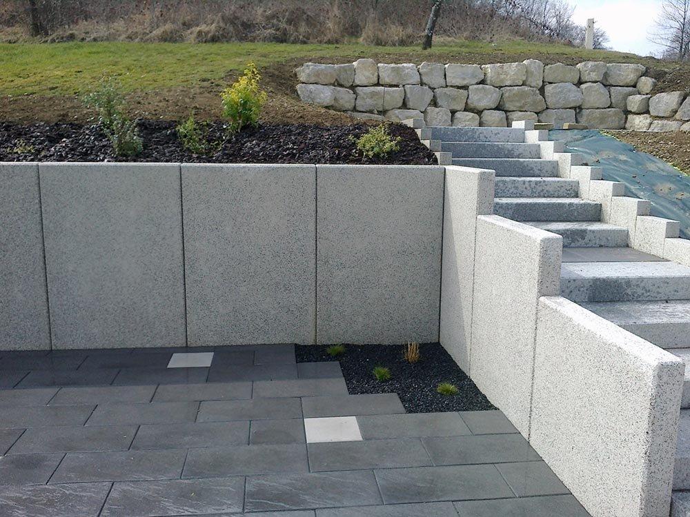 Sout nement layrac btp travaux publics en aveyron - Mur de soutenement en beton ...