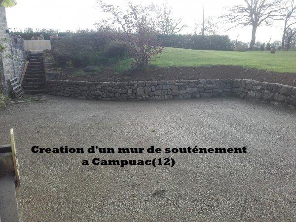 Création d'un mur de souténement Campuac (12)