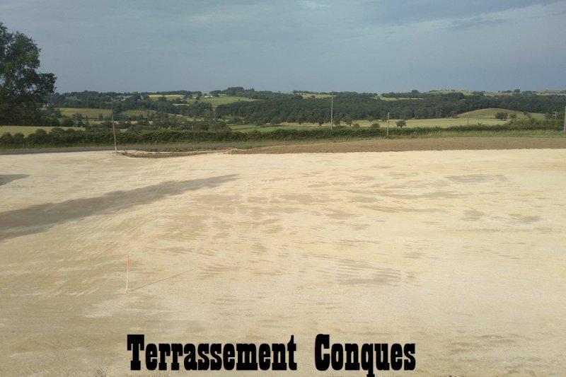 Terrassement Conques