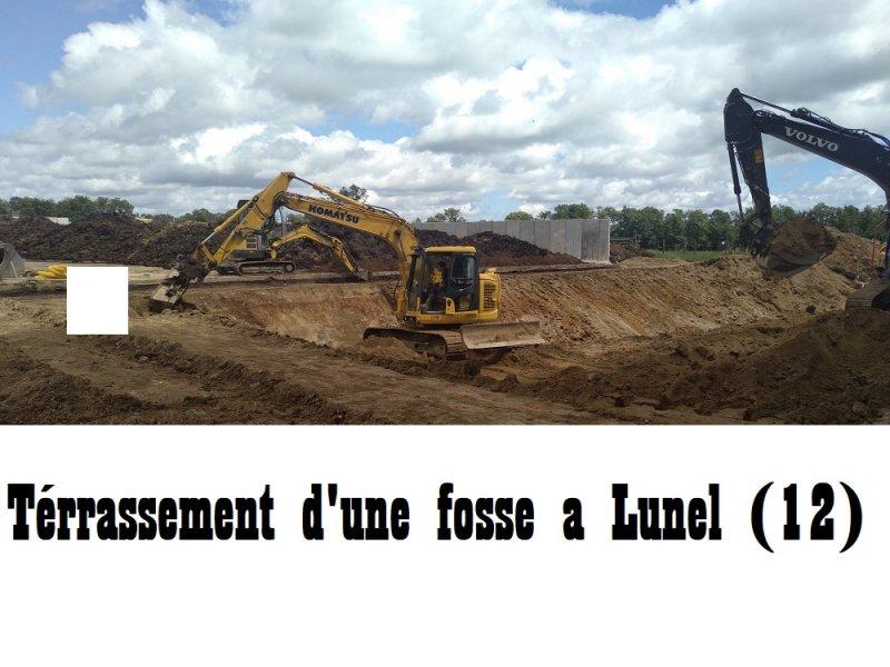 Terrassement d'une fosse  lunel(12)