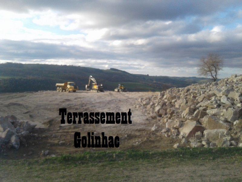 Terrassement Golinhac
