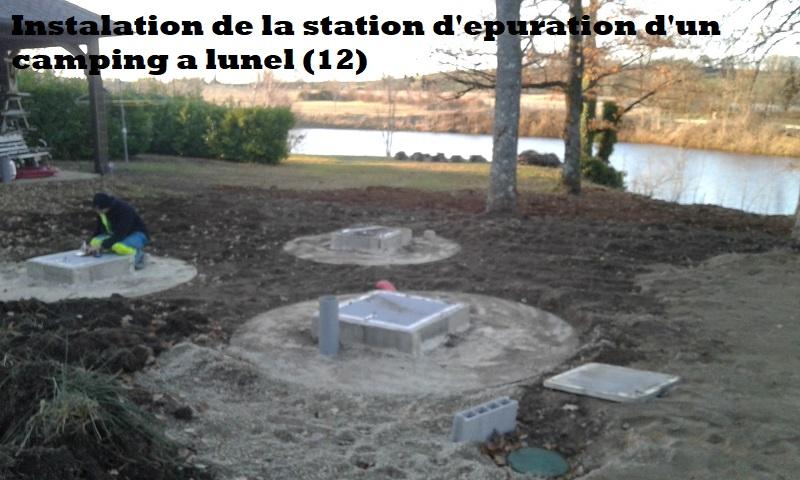 Station d'épuration 100EH